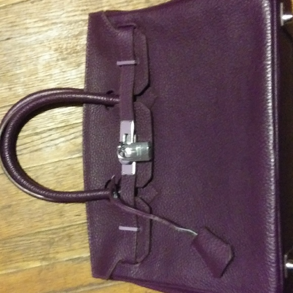 5b69c3c677 Hermes Handbags -   AUTHENTIC   Hermès Birkin 30 Togo Raisin Purple